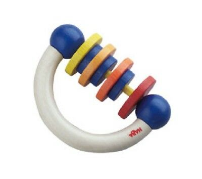 Used, New HABA Ramba Zamba Wooden Baby Clutching Toy rattle manipulative, Germany for sale  Drexel