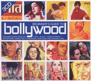 Beginner's Guide To Bollywood-New and sealed 3 cd set +