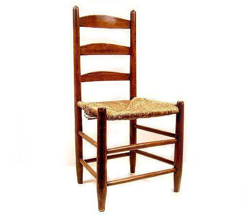 Ladderback Rush Seat Chairs