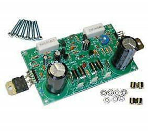 Discrete Power Amplifier DC Supply Circuit on Board with DEL Indication Velleman