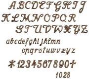 Grabstein Buchstaben