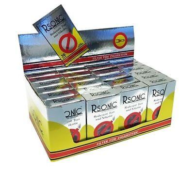 Rsonic Zigarettenfilter 24 x 30er Pack = 720 Mikrofilter Mundstück