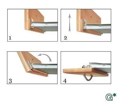 Grass USA 1754 Tilt Front Fitting Drawer Slides Self-Closing Double (Grass Drawer Slides)