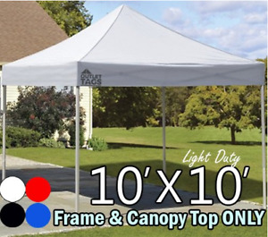 POP UP TENTS   10*10    IN DIFFERENT COLORS
