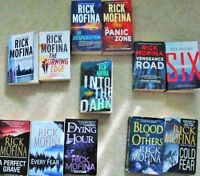 RICK MOFINA = Paperback Novels