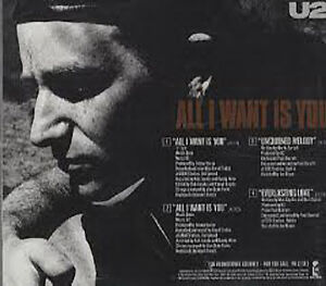 U2, All I Want Is You, NEW/MINT/SEALED Rare U.S. promo CD single