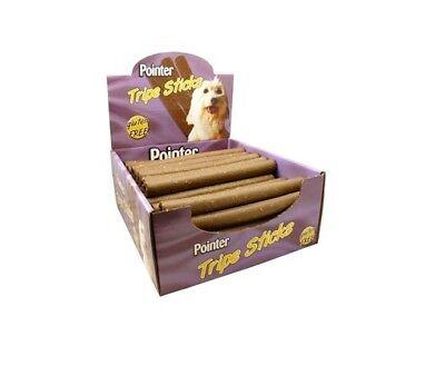 Pointer Tripe Stick Dog Treats x 50 dog Food feed