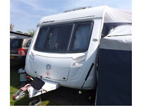 Swift Fairway 540 2007 caravan with awning