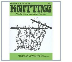 Twilleys Childrens Booklet Book Learn How to Knit Diagram Instructions  B20