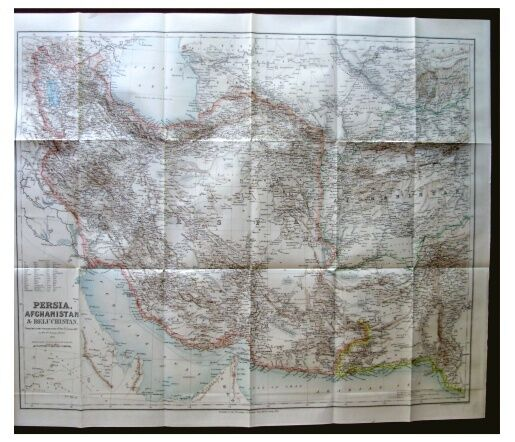 1892 Curzon - MAP OF PERSIA - 2