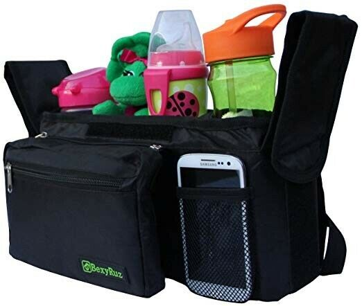 Baby Stroller Organizer - High Quality, Insulated & Universal