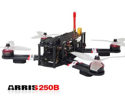 ARRIS X-Speed 250B V3 FPV Racing Drone BNF F4 Foxeer Hs1177 V2 FPV Camera Quad