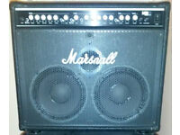 Bass Guitar amplifier Marshall MB4210 300w with Marshall footswitch