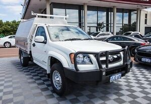 2010 Holden Colorado RC MY10 LX White 5 Speed Manual Cab Chassis Alfred Cove Melville Area Preview