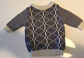 Baby boys Next winter jumper, 6-9 months - excellent condition