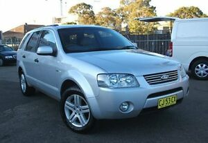 2006 Ford Territory SY Ghia (4x4) Silver 6 Speed Auto Seq Sportshift Wagon Belmore Canterbury Area Preview