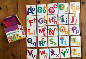 BABY EINSTEIN ALPHABET BOOKS 25 for $10