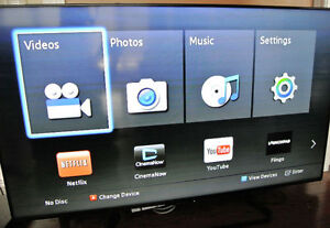 "Sharp LC-60LE660 60"" Aquos 1080p 120Hz Smart LED TV - DEFECT"