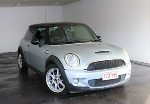 2007 Mini Hatch R53 MY05 Cooper S Silver Manual Hatchback Slacks Creek Logan Area Preview
