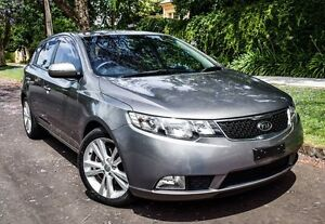 2012 Kia Cerato TD MY12 Extra Grey 6 Speed Sports Automatic Hatchback Medindie Walkerville Area Preview
