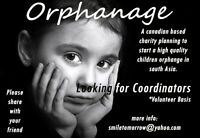 Start an orphanage in South Asia