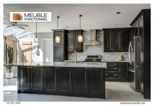 30% Rabais Armoires de Cuisine Kitchen Cabinets Montréal Environ