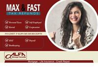 Tax Return services for a FLAT fee Vancouver, North Vancouver