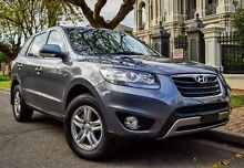 2011 Hyundai Santa Fe CM MY10 SLX Grey 6 Speed Sports Automatic Wagon Medindie Walkerville Area Preview