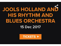 2 Tickets to Jools Holland @ Motorpoint Arena - FRIDAY!