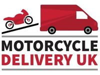 07929-656-184 Motorbike Motorcycle Collection Delivery Transporter.