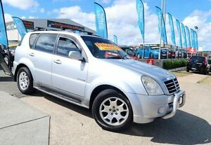2006 Ssangyong Rexton Y220 II MY07 RX270 Silver 5 Speed Automatic Wagon Woodridge Logan Area Preview