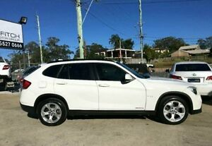 2011 BMW X1 E84 MY11.5 xDrive20d Steptronic White 6 SPEED Semi Auto Wagon Southport Gold Coast City Preview