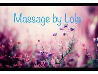 *new*Full body massage by Lola