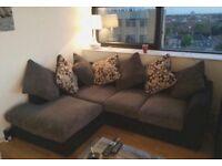 Corner sofa & 3 seater