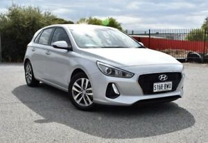 2017 Hyundai i30 PD MY18 Active Silver 6 Speed Sports Automatic Hatchback Ingle Farm Salisbury Area Preview