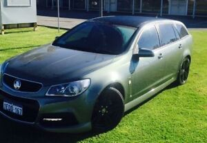 2014 Holden Commodore VF MY15 SV6 Prussian Steel 6 Speed Automatic Sportswagon Maddington Gosnells Area Preview