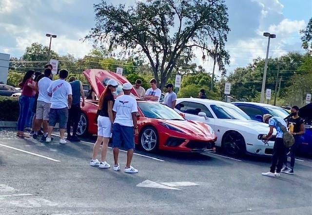 2020 Red Chevrolet Corvette  1LT | C7 Corvette Photo 9