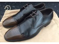 Mens Derby Burberry Shoes, ONLY WORN ON ONE OCCASION, size UK 9.