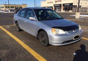 2001 Honda Civic LX ($1,800 or Best Offer, No trades)