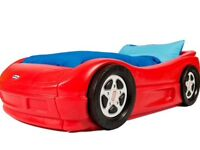 Red tikes car bed