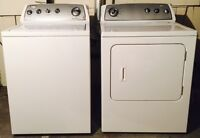 MUST GO TODAY! Whirlpool Washer & Dryer **Excellent Condition**