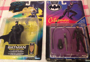 Kenner's BATMAN and Catwoman Action Figures