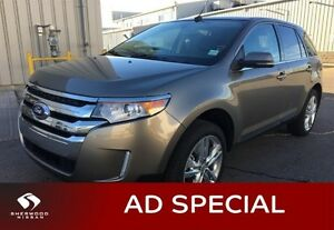 2014 Ford Edge LIMITED AWD Accident Free,  Navigation (GPS),  Le