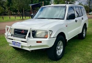 2002 Mitsubishi Pajero GLX Turbo Diesel 4x4 LWB Automatic Wagon $8999 With 15 Months Warranty Leederville Vincent Area Preview