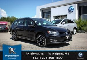 2015 Volkswagen Golf Sportwagon Highline TDI w/ Tech Pkg/DSG 0.9