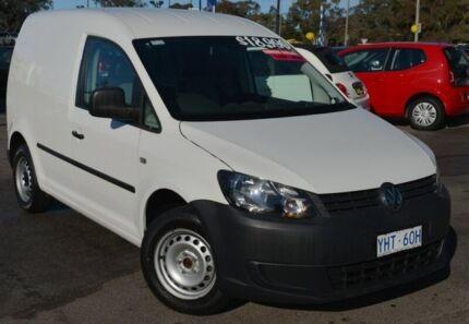 2011 Volkswagen Caddy 2KN MY12 TDI250 SWB DSG Candy White 7 Speed Sports Automatic Dual Clutch Van Phillip Woden Valley Preview