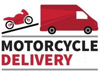 Motorbike Collection Motorcycle Delivery Transporter Courier Mover. Quad Scooter Scotland
