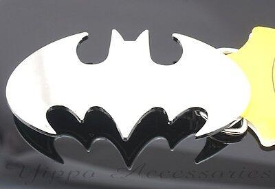 Batman Licensed Dark Knight Silver Chrome Metal Belt Buckle
