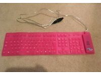 Bendable keyboard