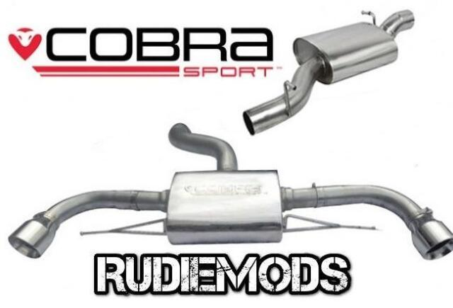 Cobra Sport Audi TT MK2 Quattro 12-15 Cat Back Exhaust System Resonated